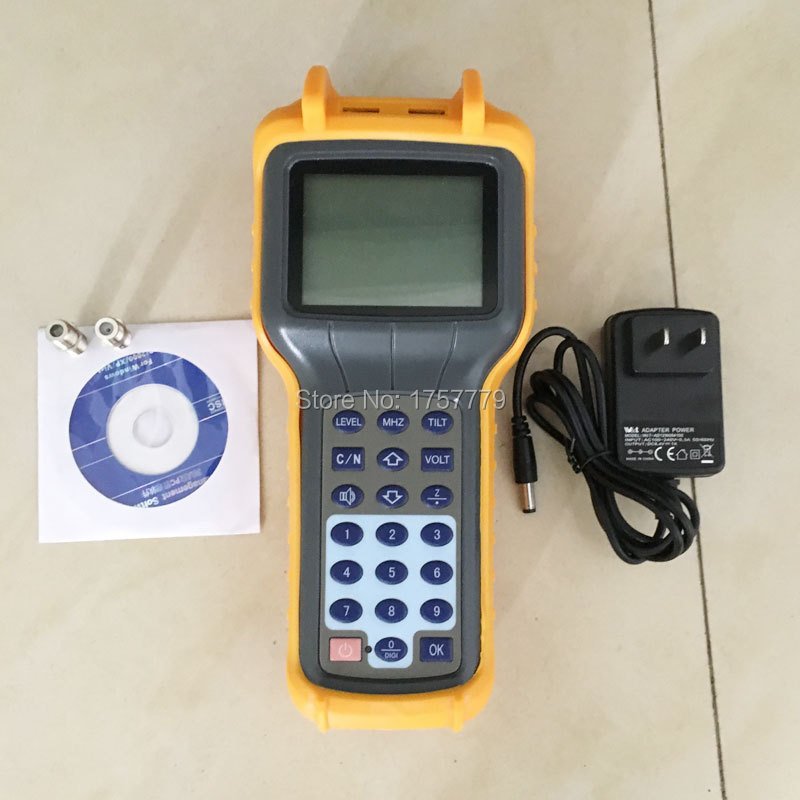 New RY-S110D CATV Cable TV Tester Handheld Analog Signal Level Meter DB Tester 5-870MHz