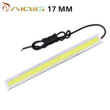 10pcs 17CM 6W COB led 84 Chip New update LED Daytime Running Light Waterproof LED DRL Fog car lights Auto car light source 12V 2pcs auto car fog light lamb led daytime running light headlight external light for skoda citigo 2012 2013 12v car light source