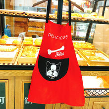Original Cartoon Waterproof Antifouling Kitchen Overalls Apron Home Daily(China)