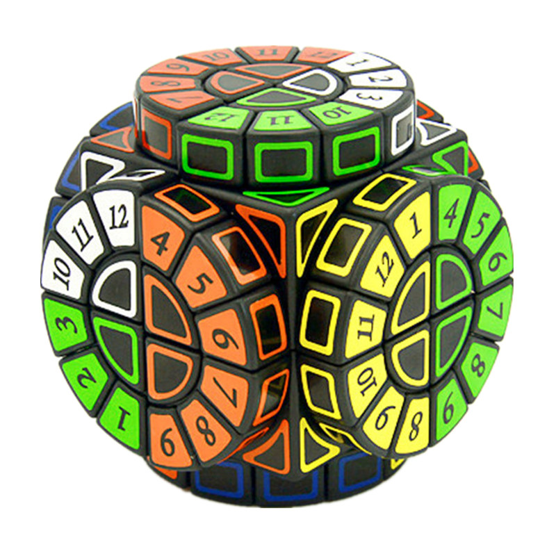 Time Machine Magic Cube Creative Souvenir Edition Puzzle Toy Creative Souvenir Edition Toy Cubo Magico with Extra free Stickers-in Magic Cubes from Toys & Hobbies    1