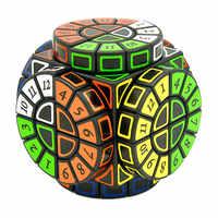 Time Machine Magic Cube Creative Souvenir Edition Puzzle Toy Creative Souvenir Edition Toy Cubo Magico with Extra free Stickers