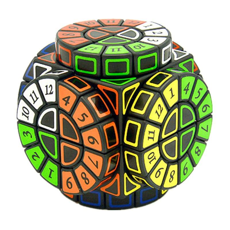 Time Machine Cube magique créatif Souvenir édition Puzzle jouet créatif Souvenir édition jouet Cubo Magico avec des autocollants gratuits supplémentaires
