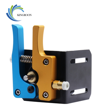 KINGROON Glod Blue MK8 Bowden Direct Extruder Full Metal Aluminum Remote Hotend Extruder Kit 1.75mm Filament 3D Printer Parts F1 3d printer parts cyclops 2 in 1 out 2 colors hotend 0 4 1 75mm 12v 24v fan bowden with titan bulldog extruder multi color nozzle