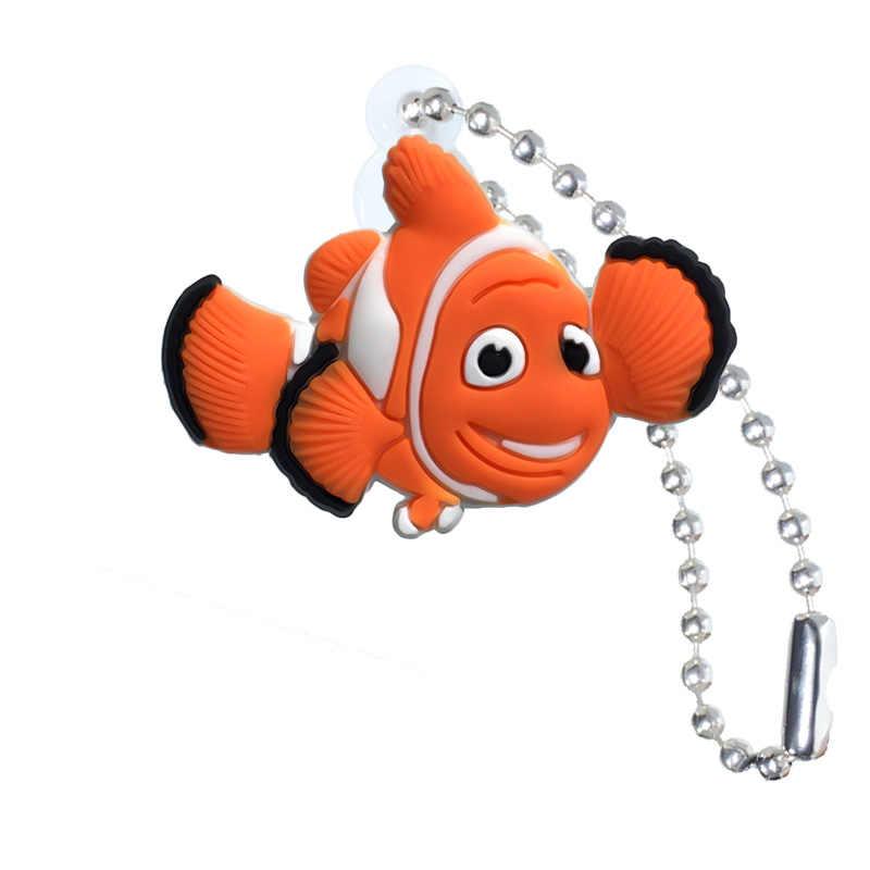 20 قطعة سلسلة المفاتيح منظم المفاتيح Nemo شخصية كرتونية حلقة مفاتيح للأطفال حقيبة ذاتية الصنع تزيين هدايا الحفلات