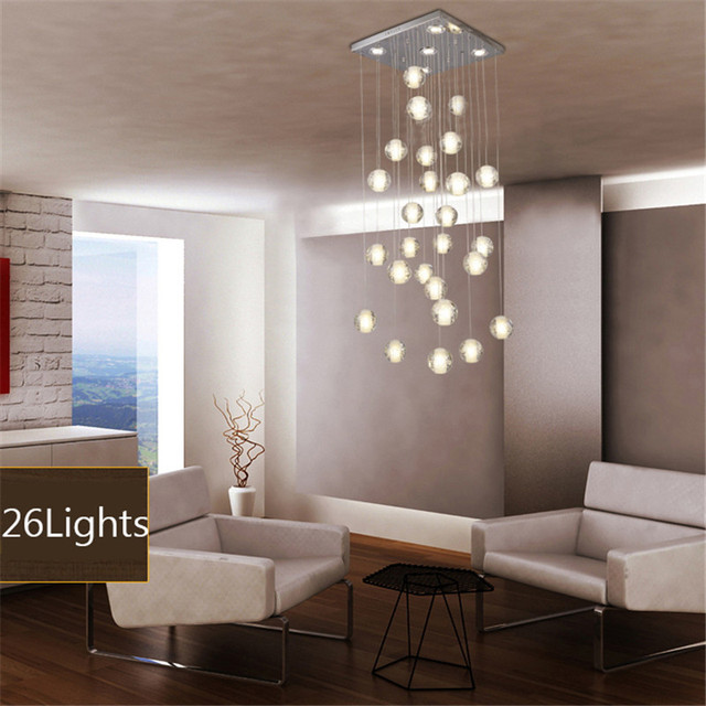 Creative Meteor Crystal Ball Ceiling Lights Led Modern Minimalist Living Room Dining 30