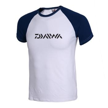 39e531b1 Read More DAIWA O Neck Collar Short Sleeve Fishing Clothing Anti-uv Fishing  Shirt Breathable Sun Protection Sportswear Camisas Pesca