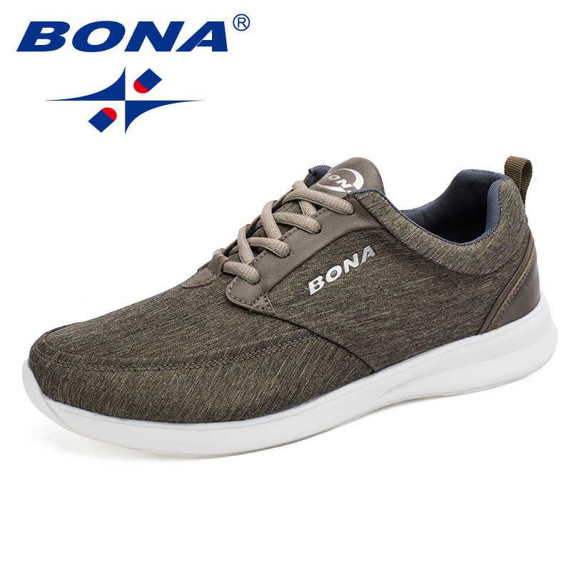 Bona novo estilo clássico popular homens sapatos de caminhada rendas até sapatos de corrida ao ar livre tênis confortáveis frete grátis