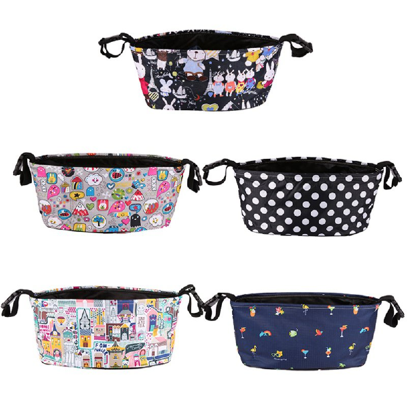Baby Stroller Bag Organizer Infant Toddler Nappy Diaper Bag Multifunctional WaterProof Mummy Bag For Mother Baby Care цена