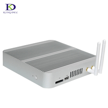 Wholesale Fanless Mini PC Intel Windows 10 stick pc raspberry pi 3 Desktop Computer Skylake I3 6100U Barebone 4K HD 300M WiFi