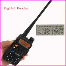 Radio portatile Set Attrezzature di Polizia Walkie Talkie 10km Baofeng uv 5r Per Pmr Stazione Radio di prosciutto hf Ricetrasmettitore Radio Communicator