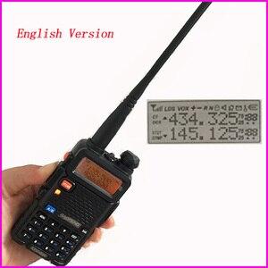 Image 1 - Radio portatile Set Attrezzature di Polizia Walkie Talkie 10km Baofeng uv 5r Per Pmr Stazione Radio di prosciutto hf Ricetrasmettitore Radio Communicator