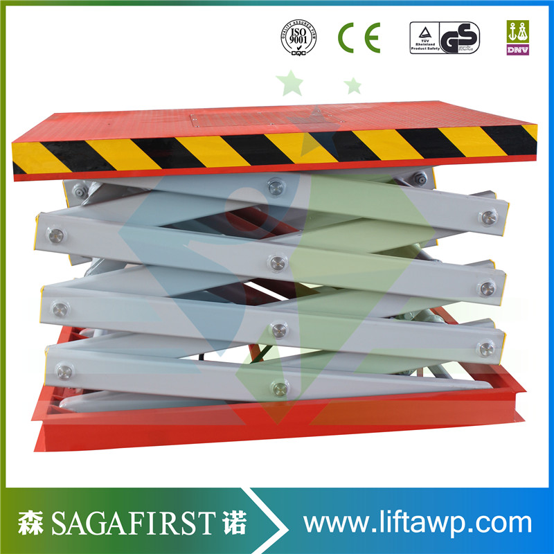 Mobile Scissor Lift Table 1ton Oad Capacity Electrical