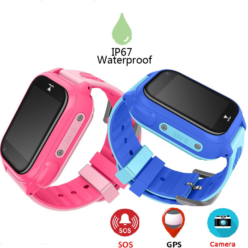 M06 IP67 Waterproof Children Baby GPS Swimming Smart Watch Kids Watch SOS Call Location Device Tracker Safe Anti-Lost Monitor hot anti drowning bracelet rescue device floating wristband wearable swimming safe device water aid lifesaving for adult kids