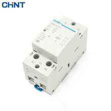CHINT Household Small-sized Single-phase Communication Contactor 220V Guide Type Two Often Close 63A Security 2P
