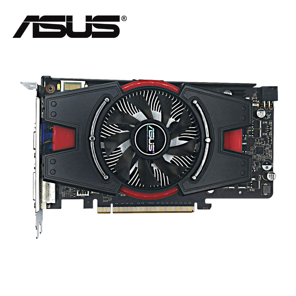 Used,original ASUS GTX550Ti real 1G DDR5 192bit 900/4104MHz ,100% tested good! image