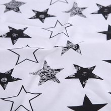 Cute Stars Patterned Soft Cotton Swaddle Blanket