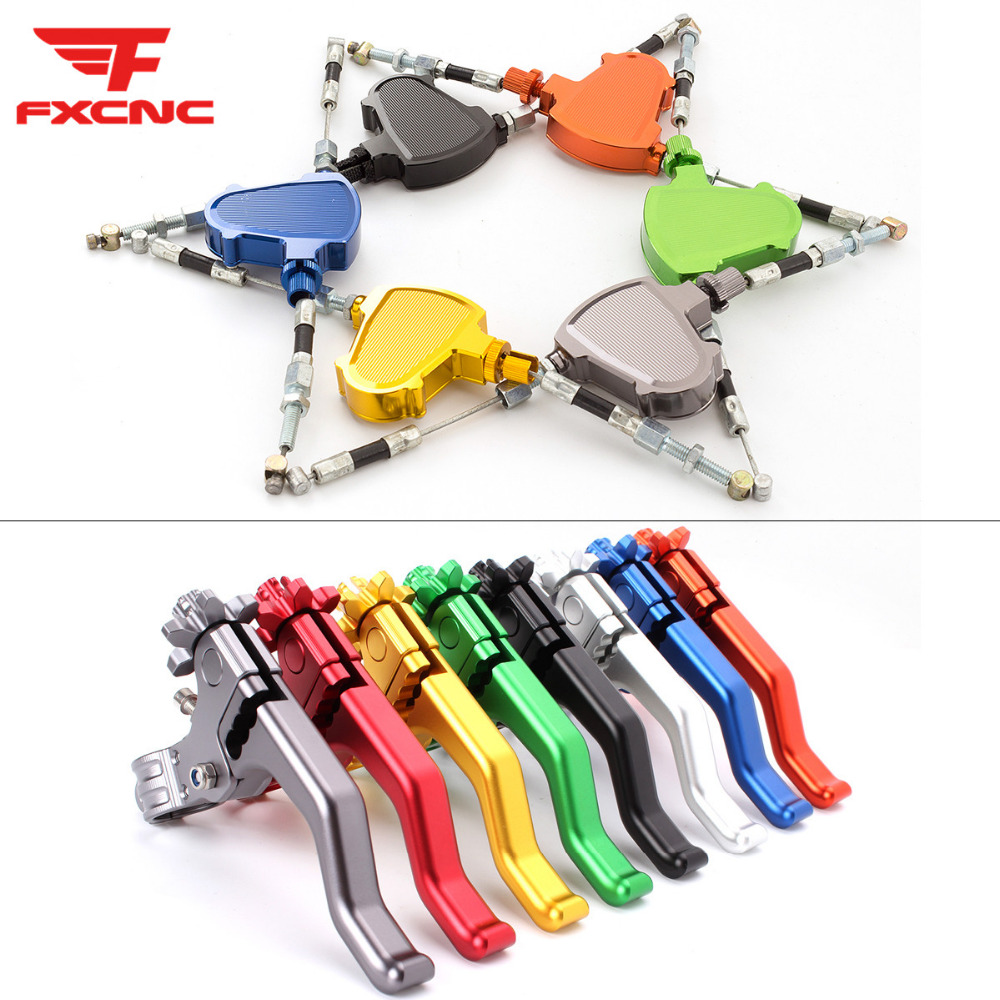 FXCNC Universal Performance Stunt Clutch Pull Cable Lever Replacement System