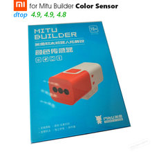 Original Xiaomi Color Sensor for Mitu Builder Mi Bunny Intelligent Block Robot | Recognition of Color and Grayscale Wireless(China)