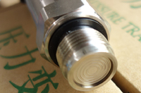 0 2.5Mpa M20 * 1.5 4 20ma flat membrane pressure transmitter flush diaphragm pressure sensor sanitary pressure transmitter
