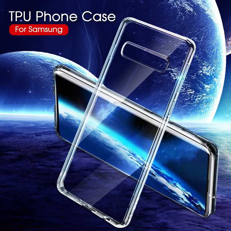 Phone Case For Samsung Galaxy A30 A50 A10 A20 A40 A70 S10 Plus S10e M10 M20 M30 S8 S9 S7 Edge Soft TPU Clear Shockproof Cover