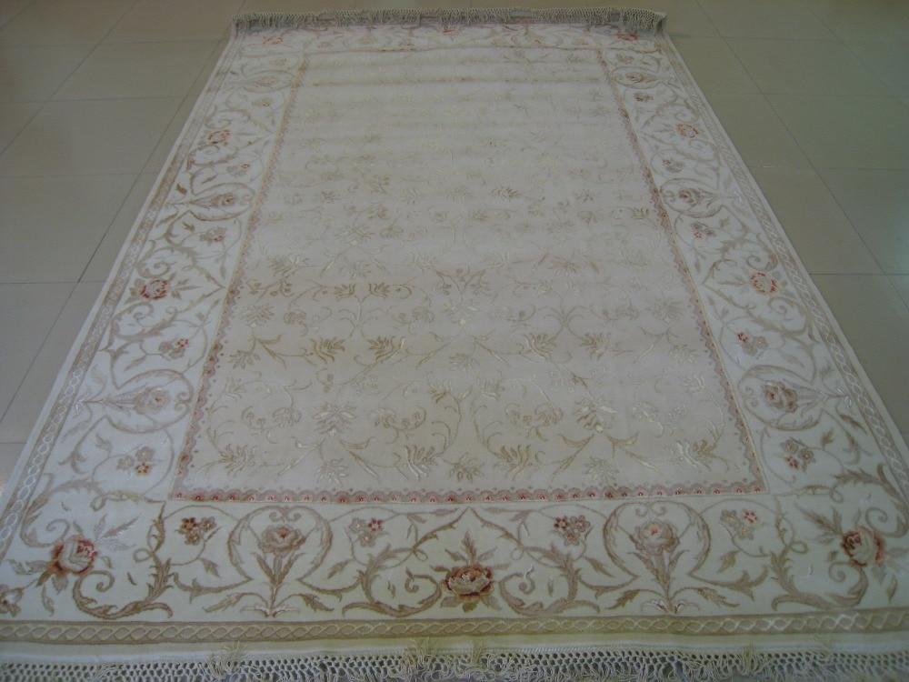 Gratis forsendelse 2.08X3.07M 160Line Håndknyttet persisk tæppe, - Hjem tekstil - Foto 2
