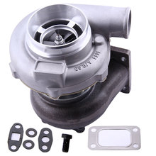 GT3076 GT3037 turbo turbocharger for Audi VW Opel T3 bride T3 A/R .60 GT30 GT3076 GT3037 Turbine Turbolader  6 / 8 cyl 3.0L-5.0L turbo chra turbocharger cartridge turbolader core gt2052v 710415 7781436 7780199d for bmw 525d e39 120kw