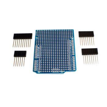 Прототип платы расширения печатной платы для Arduino ATMEGA328P UNO R3 щит искусственное волокно печатная плата макетная плата 2 мм 2,54 мм Шаг с штифтами Сделай Сам один