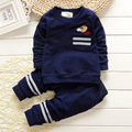 Newest 2016 Spring Baby Boys suits Infant/Newborn Clothes Sets Kids Casual tracksuits Children Suits