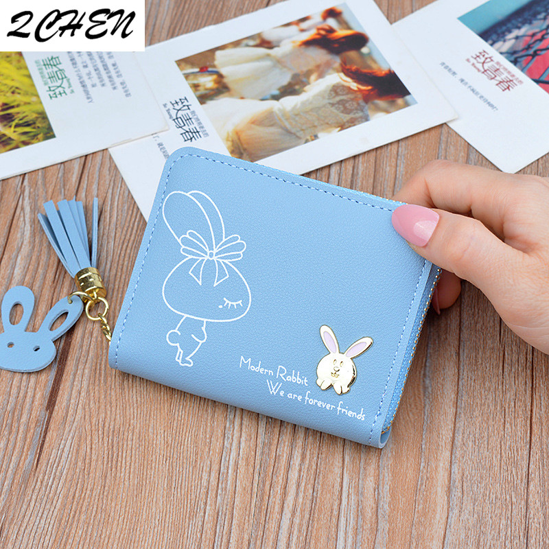 Women wallets  Leather Small Luxury Brand Famous Mini Women Wallets Purses Female Short Coin Zipper Purse Credit Card Holder 471