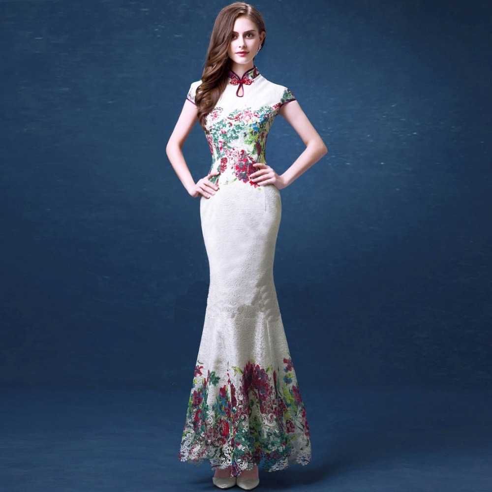 Chinese Style Evening Dresses