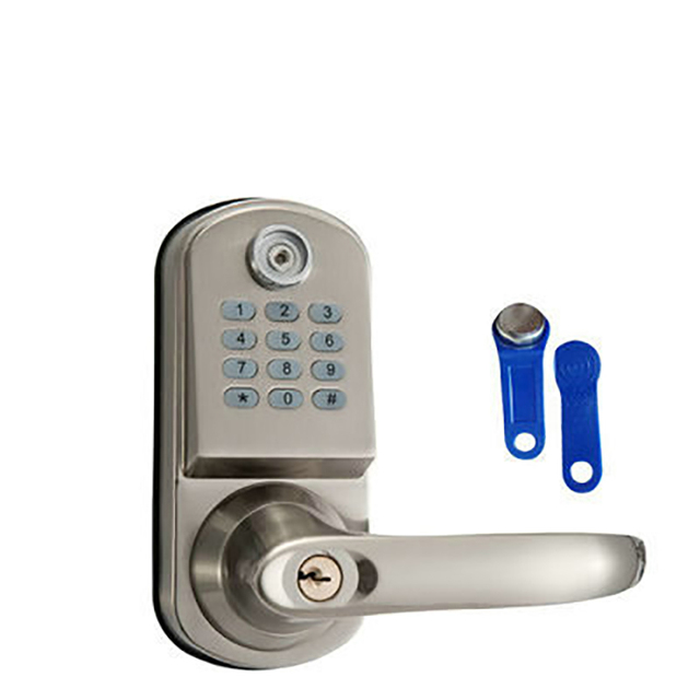 Electronic Password Handle button door lock castle central locking ...