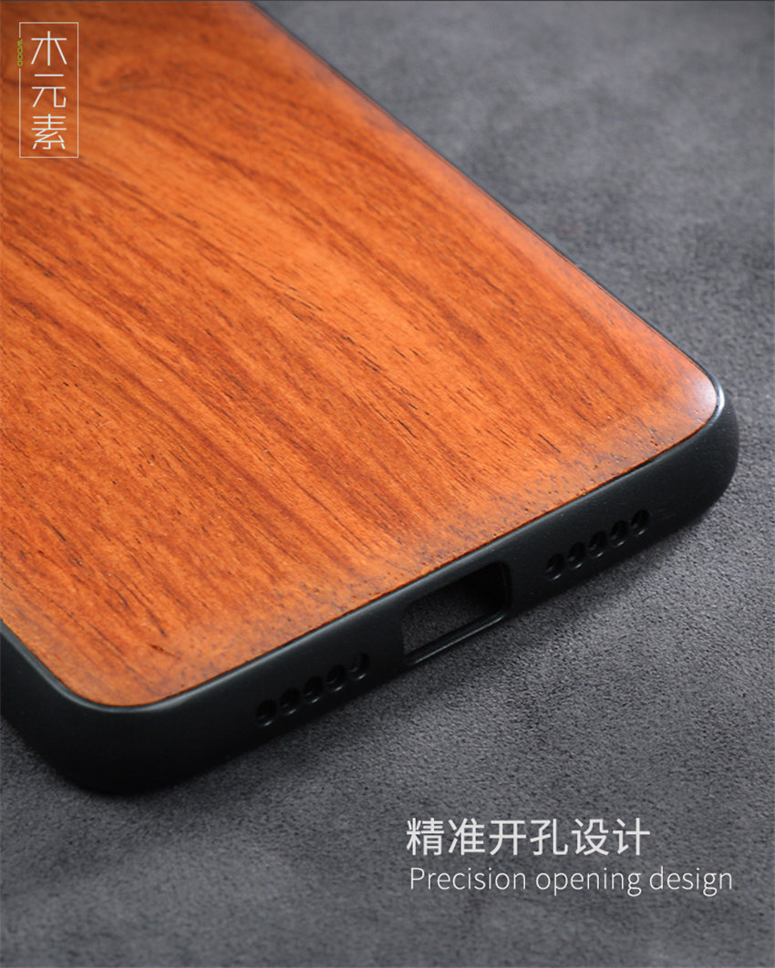 Oneplus 6t Case Boogic Original Real Wood funda Oneplus 6T Rosewood TPU Shockproof Back Cover Phone Shell One plus 6T case (8)