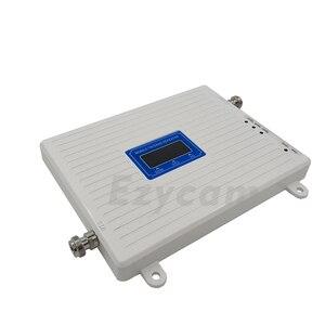 Image 2 - 2G 3G 4G Tri Band sinyal güçlendirici GSM 900 + DCS/LTE 1800 + WCDMA/ UMTS 2100 cep telefon sinyal tekrarlayıcı 900 1800 2100 sinyal amplifikatörü