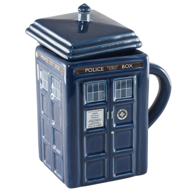Official Doctor Dr Who Tardis Ceramic Mug Cup Microwave Safe Great