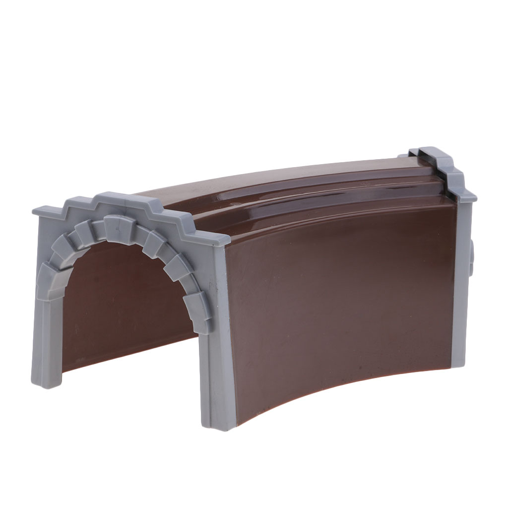 Diy Diorama Architecture Train Tunnel Sand Table Model Children Toy Cave Train Tunnel Cave Train Scenery Diy Accessories Strong Packing Model Building Kits