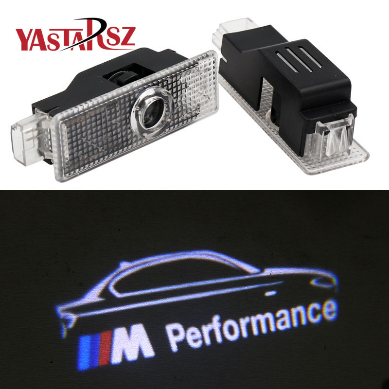 New M Performance logo projector Ghost Shadow light for bmw E60 E90 E91 F10 F15 F16 F30 M3 M5 M6 F01 F02 GT Door Warning Light neri karra 0579 3 01 90 3 01 91