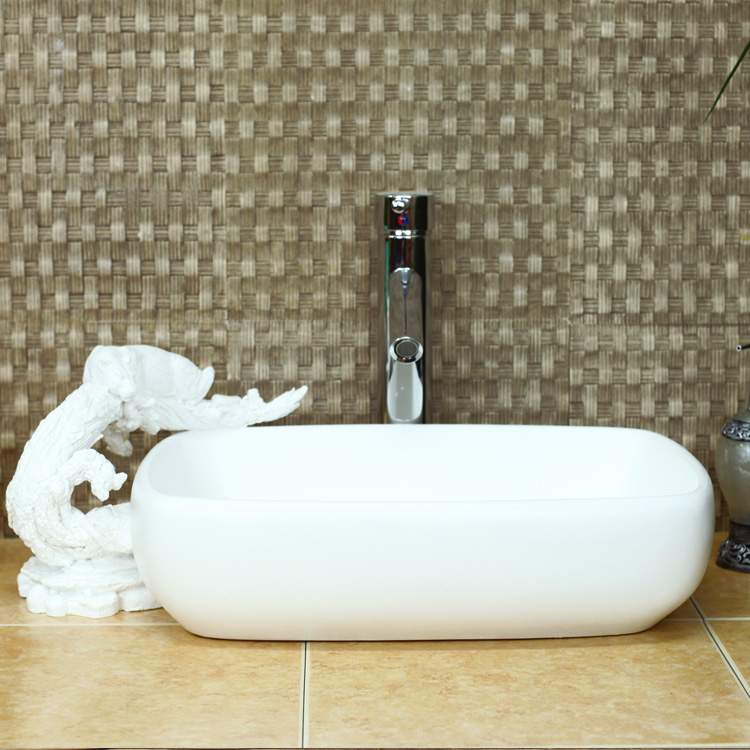 European Leopard Carve Patterns Or Designs On Woodwork Stage Basin Artificial Stone Bathroom Sink