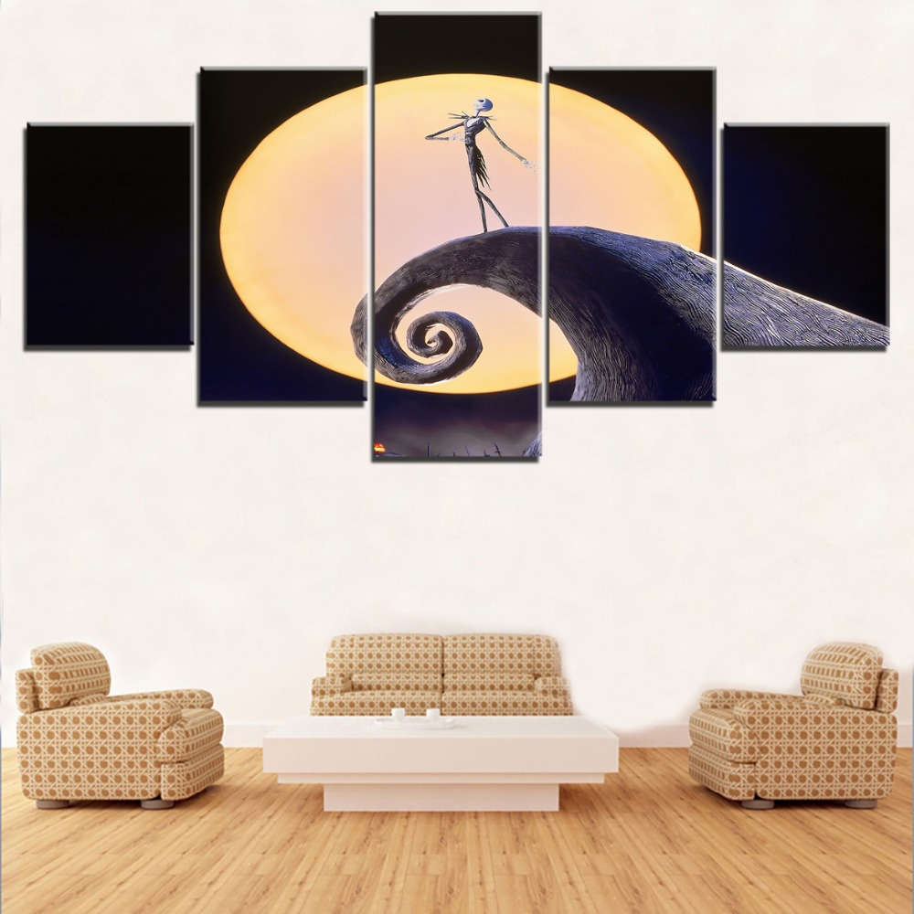 Home Decorative Wall Art Pictures Farmework 5 Pieces Movie The ...