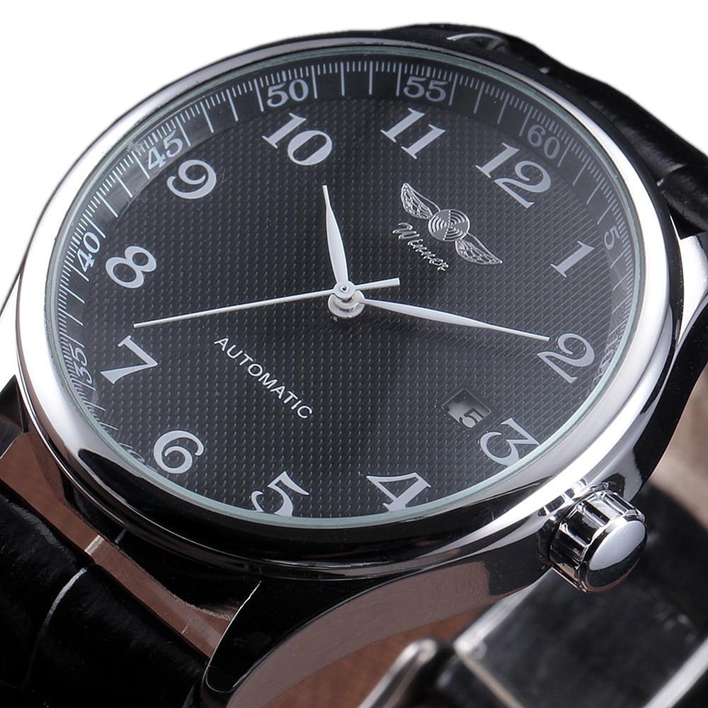 Winner Luxury Men Mechanical Watch Classic Date automatic