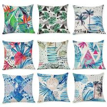 Printed Line Cushion Cover For Sofa Waist Throw Home Decor Cushion Cover Case Home Decoration Accessories Pillow Cover цены