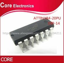 5 개/몫 ATTINY84 20PU ATTINY84 ATTINY84 20 MCU 8BIT 8KB 플래시 14 DIP IC 최고의 품질