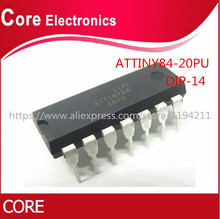 5 шт./лот ATTINY84 20PU ATTINY84 ATTINY84 20 MCU 8BIT 8KB FLASH 14 DIP IC лучшее качество