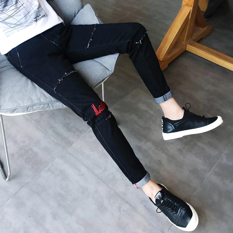 Cheap wholesale 2019 new autumn winter Hot selling man fashion casual Denim Pants male   Jeans   MP251