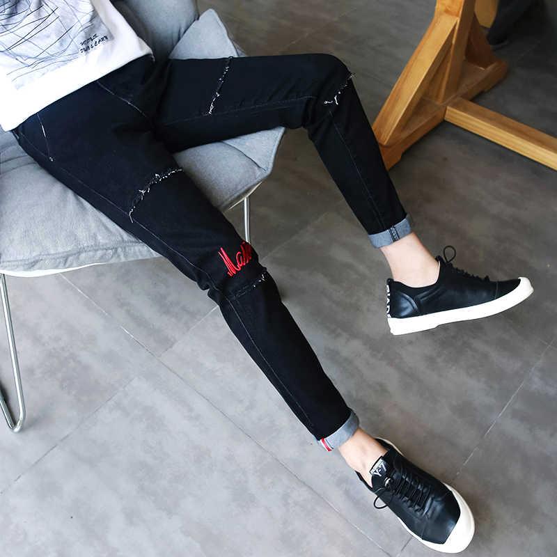 Goedkope Groothandel 2019 Nieuwe Herfst Winter Hot Selling Man Mode Toevallige Denim Broek Mannelijke Jeans MP251
