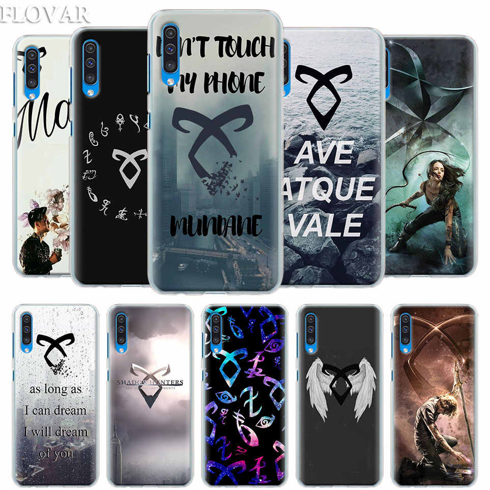 shadowhunters Case Cover for Samsung Galaxy A30 A40 A50 A70 A6 A8 Plus A7 A9 2018 M30 Phone Case Coque