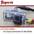PARA Toyota Land Cruiser LC 100 120 200/Opinión Posterior Del Coche cámara/Que Invierte La Cámara Parque/HD CCD de Visión Nocturna + ángulo