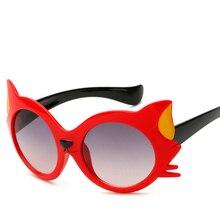 2018 Moda Rodada óculos de Sol Bonito Crianças Marca Meninos meninas chapéu  de Sol óculos crianças óculos Presente Dos Desenhos . d075a43e48