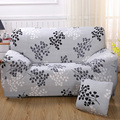 Four Seasons Universal Stretch Sofa Covers Polyester Modern Loveseat Couch Cover 17-Colors Sofa Towel 1/2/3/4-seater