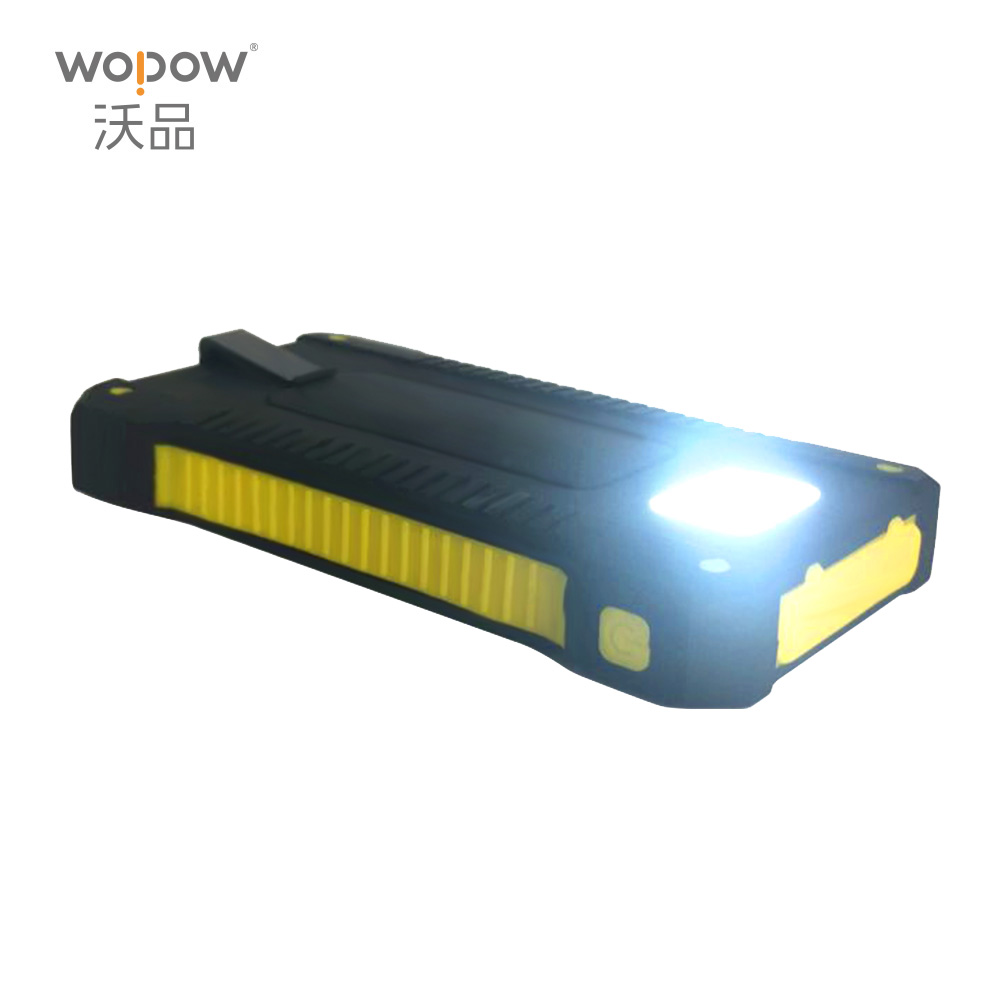 wopow drop shipping Solar Charger Battery 10000mAh Portable Solar Power Bank for iPhone 6 6s 7