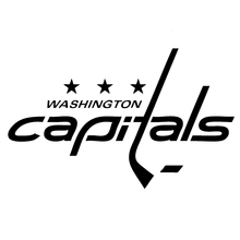 For Washington Capitals Funny Cool Graphics Motorcycle SUVs Bumper Car Window Car Styling Stickers Vinyl Decals checkered flag pattern silhouette car styling car decals bumper stickers vinyl decorative arts graphics jdm